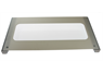 BELLING & STOVES TOP OVEN DOOR GLASS ASSEMBLY, WHITE DETAIL