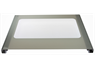 STOVES MAIN OVEN OUTER DOOR GLASS ASSEMBLY, WHITE DETAIL