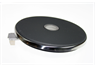 "7""(180MM) 2000W SOLID HOTPLATE HOLE FOR PAN SENSOR, 5MM RIM"