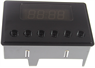 Cooker Clock with a Black Display for Stoves Ovens
