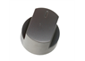 Brushed Silver Hotplate Control Knob from Stoves