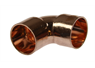 15MM COPPER FEMALE TO FEMALE 90? COUPLING ELBOW