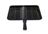GRILL PAN ASSEMBLY 360mmX245mm PAN, GRID & CLIP ON HANDLE