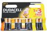 DURACELL POWER+ AA BATTERIES PACK OF 4