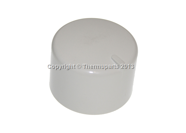 Gas Oven Knob in white for New World Cookers