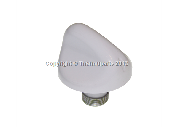 Oven Knob in white for New World Cookers