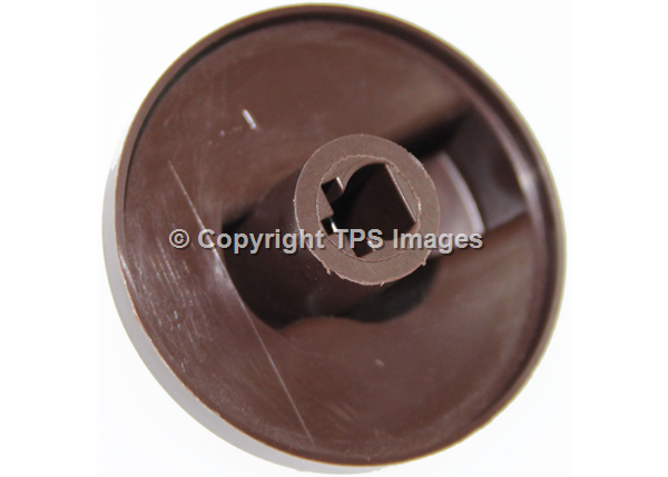 Oven Control Knob in brown for Flavel Ovens