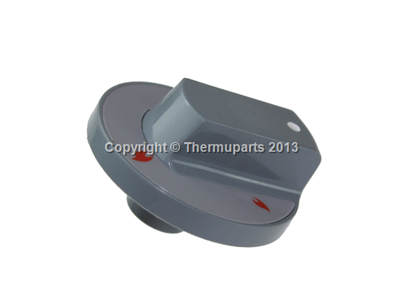 Hob Control Knob is grey for Flavel cookers
