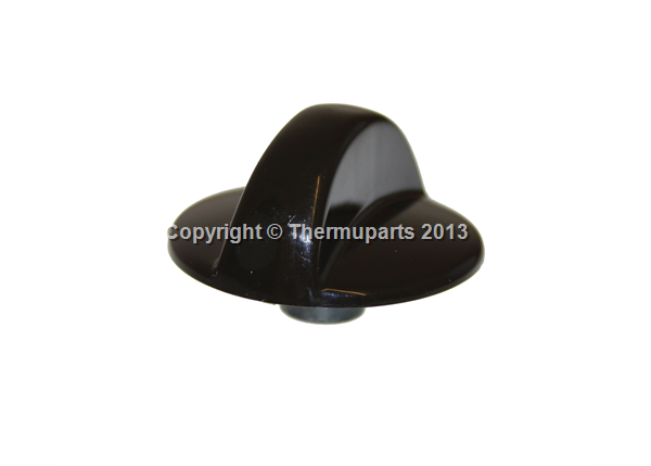 Cannon Oven Control Knob in Dark Brown