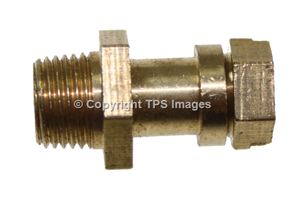 "1/8"" BRASS TEST POINT NIPPLE FOR NATURAL GAS AND LPG"