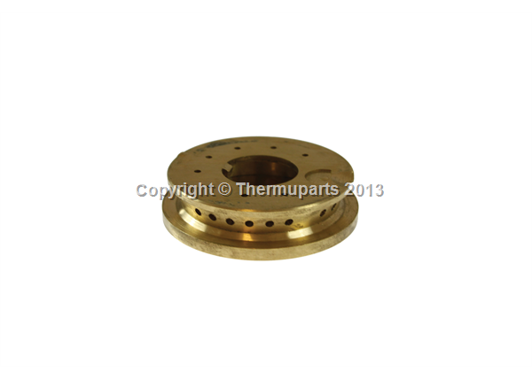 Cannon & Hotpoint Genuine Brass Burner Body & Cap Assembly