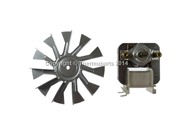 Oven Fan Motor for Candy Ovens