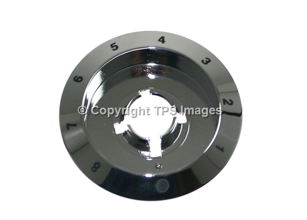 Stoves & Belling Genuine Chrome Single Energy Regulator Bezel