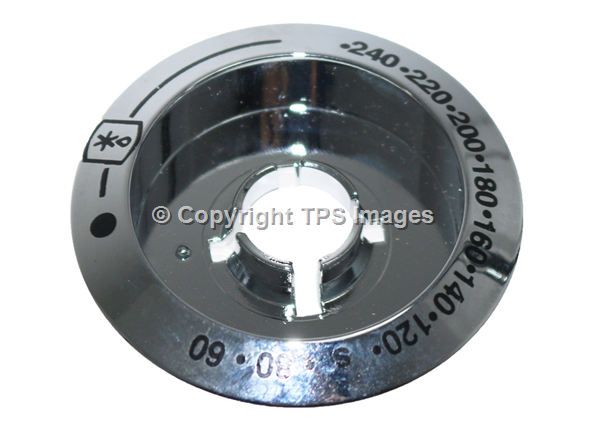 Belling, Stoves & New World Genuine Chrome Oven Control Knob Bezel