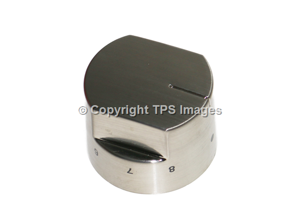 Stoves & Belling Genuine Stainless Steel Hob Control Knob