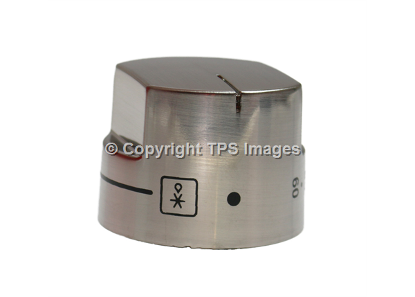 Belling & Stoves Genuine Stainless Steel Oven Control Knob