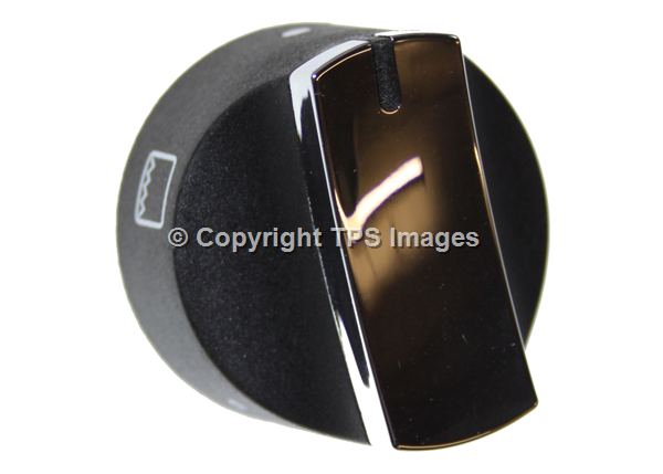 Stoves Genuine Chrome Oven & Grill Control Knob