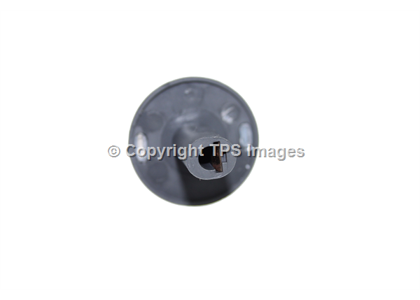 Hotpoint UY46X Oven Control Knob (Chrome with Black Trim)