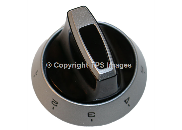 Cannon silver control knobs