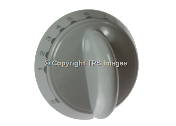 White Main Oven Cooker Knob