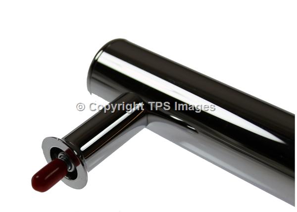 P028740 Rangemaster Genuine Chrome Door Handle Cooker