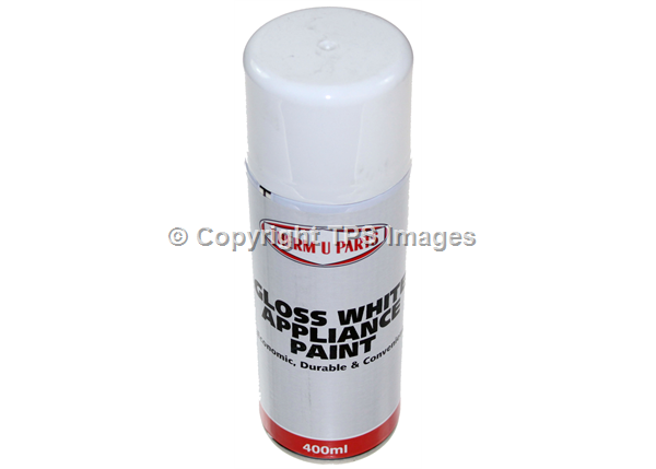 Gloss White Paint for Appliances